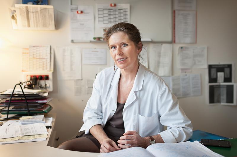 Dr Perinne Marec-Bérard pédiatre et oncologue à l'Institut d'hématologie et d'oncologie pédiatrique (IHOPe) de Lyon. ©Marion PARENT