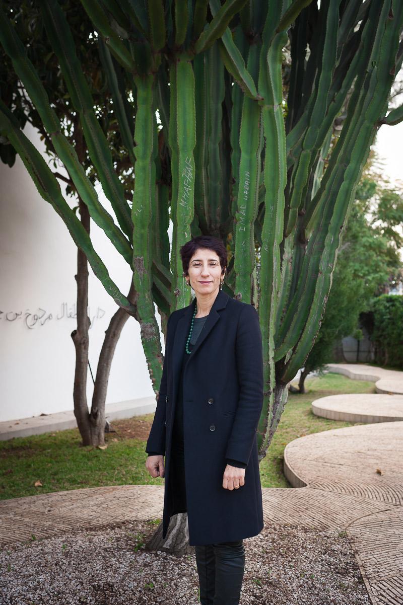La conservatrice du musée juif de Casablanca. ©Marion PARENT